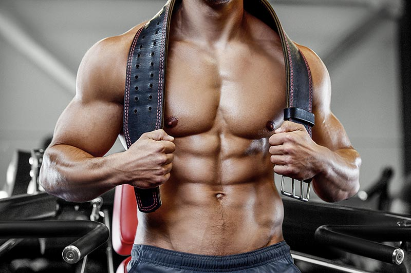 Testosterone for muscle mass