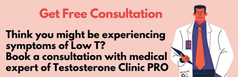 Freee consultation about low T